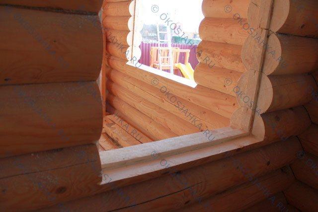 Как правильно установить окна в деревянном доме