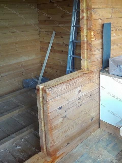 Окосячка балконного блока