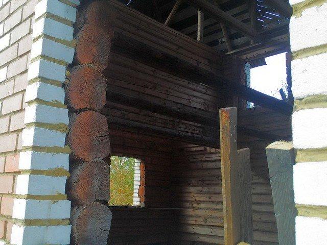 Оконные проемы в деревянном доме